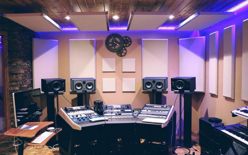 Estudio de música y audio